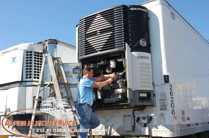 Refrigerated Trailer Service in Tacoma
