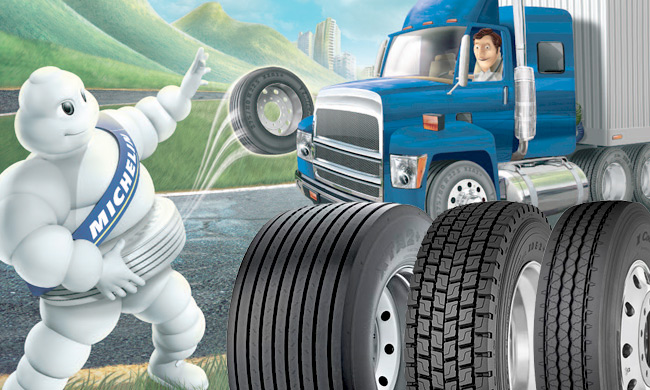 michelin truck tires Tacoma, truck tires Seattle